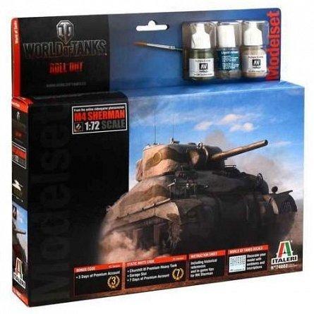 Kit macheta tanc M4 Sherman (WoT with accessories)