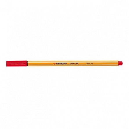 Liner Stabilo Point 88,0.4mm,rosu