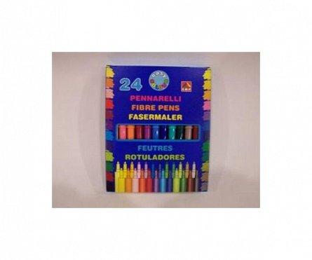 Markere copii24 culori/cutie