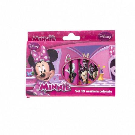Markere copii,10b/cutie carton,Minnie