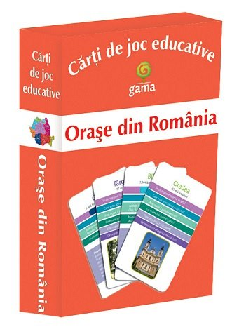 ORASE DIN ROMANIA/CJED.
