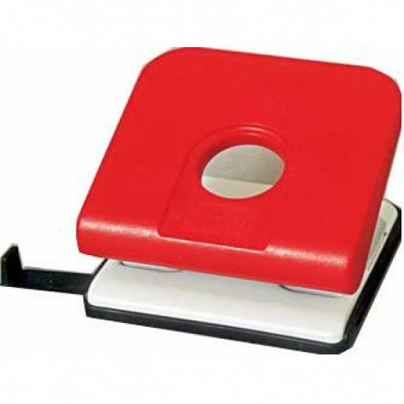 Perforator Novus Master, capacitate 25 coli, rosu