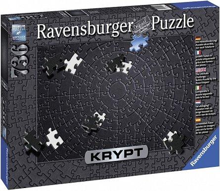 Puzzle Krypt negru, 736 piese,Ravensburger