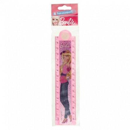 Rigla extensibila 30cm,Barbie