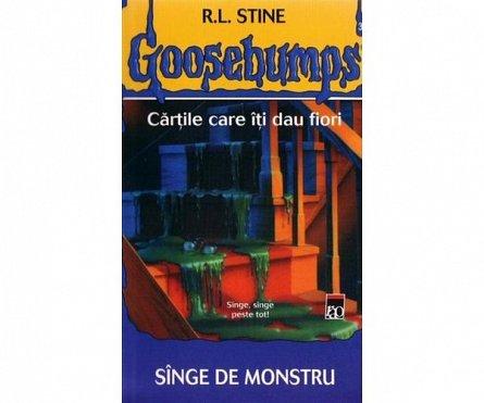 GOOSEBUMPS. SINGE DE MONSTRU