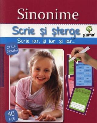 SINONIME/ SCRIE SI STERGE