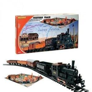 Tren,western,cu diorama,accesorii,set