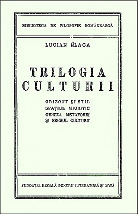 TRILOGIA CULTURII (REEDITARE)